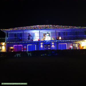 Christmas Light display at 5 Goldthorp Court, Frankston South