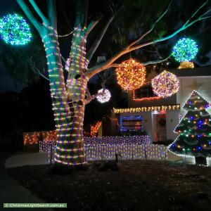 Christmas Light display at 7 Clarrisa Court, Narre Warren