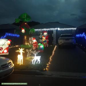 Christmas Light display at 19 Mataro Road, Hope Valley