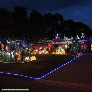Christmas Light display at 27 Hoylake Crescent, Fairview Park