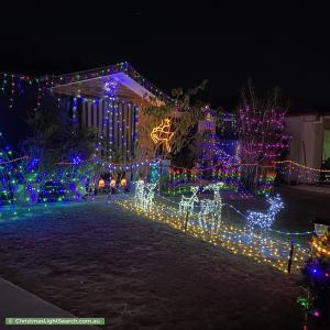 Christmas Light display at 39 Ronald Court, Morayfield