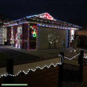 Christmas Light display at 43 Foxwood Drive, Point Cook