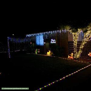 Christmas Light display at 3 North Circular Road, Gladstone Park