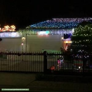 Christmas Light display at 22 William Drive, Davoren Park