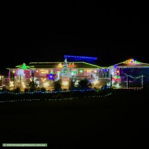 Christmas Light display at 31 Flamingo Crescent, Thornlands