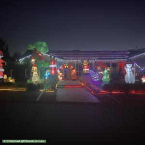 Christmas Light display at 1 House Circuit, Banks