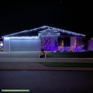 Christmas Light display at 7 Selhurst Parkway, Baldivis