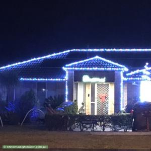 Christmas Light display at 88 Bunker Road, Victoria Point