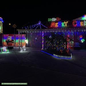 Christmas Light display at 20 Casma Grove, Ballajura