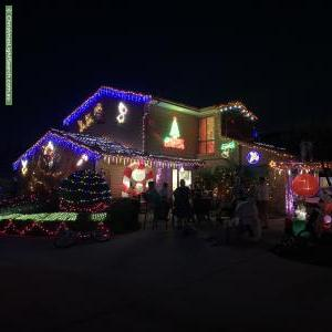 Christmas Light display at 37 Wyselaskie Circuit, Kambah