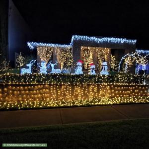 Christmas Light display at 30 Sherrard Avenue, Elizabeth Hills