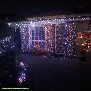 Christmas Light display at 51A Richland Road, Newton