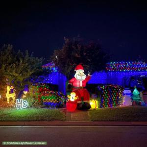 Christmas Light display at 10 Jenkins Court, Craigmore