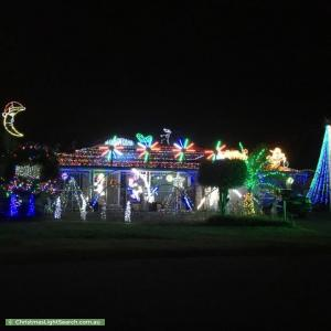 Christmas Light display at 11 Lane Court, Mount Warren Park