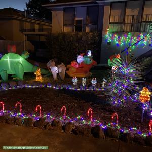Christmas Light display at 50 Rankin Road, Boronia