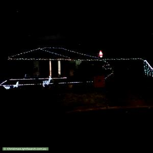 Christmas Light display at 9 Constance Court, Narre Warren