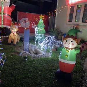 Christmas Light display at 29 Grosvenor Road, South Hurstville