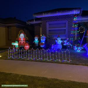 Christmas Light display at 50 Clydevale Avenue, Clyde North