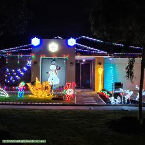 Christmas Light display at  Pesa Way, Wyndham Vale