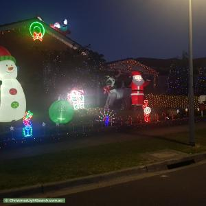 Christmas Light display at 15 Metcalf Crescent, Rowville
