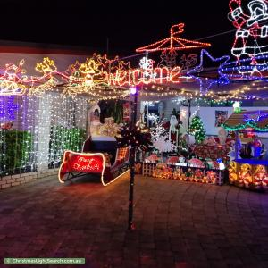 Christmas Light display at 83 Murphy Street, Point Vernon