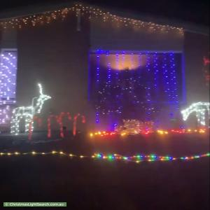 Christmas Light display at 19 Singleton Drive, Endeavour Hills