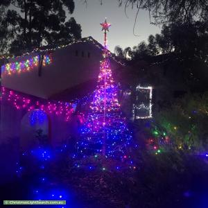 Christmas Light display at 7 Player Drive, Fairview Park