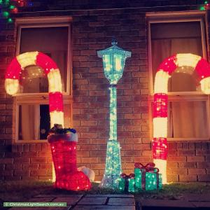 Christmas Light display at 4 Maple Leaf Avenue, Narre Warren South