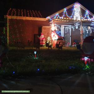 Christmas Light display at 15 Ritchie Street, Torrens