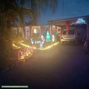Christmas Light display at 33 Granville Drive, Bray Park