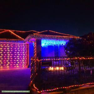 Christmas Light display at 224 Newton Boulevard, Munno Para