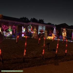 Christmas Light display at 3 Walters Court, Mount Barker