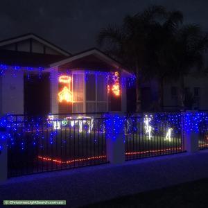 Christmas Light display at 13 Wandilla Street, Largs North