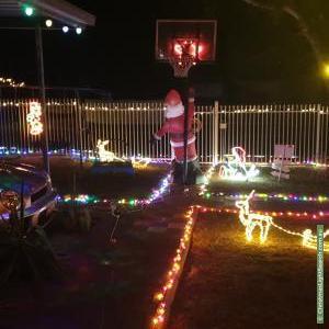 Christmas Light display at 2 Marshall Street, Morphett Vale