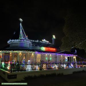 Christmas Light display at 30 Palmerston Road, Unley