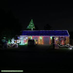 Christmas Light display at 10 Fullerton Crescent, Bligh Park