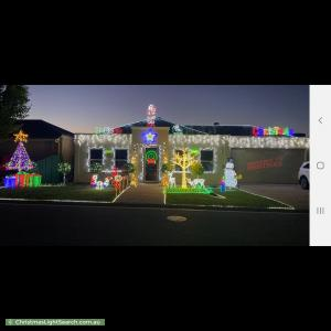 Christmas Light display at  Brenton Street, Blakeview