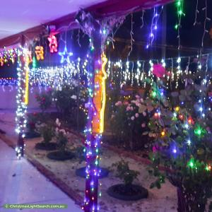 Christmas Light display at 247 Corfield Street, Gosnells
