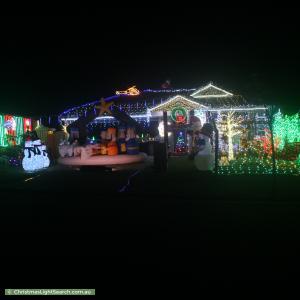 Christmas Light display at 9 Ernestine Circuit, Eagleby