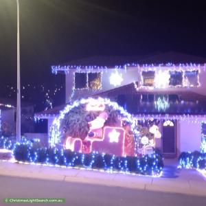 Christmas Light display at 55 Harry Hopman Circuit, Gordon