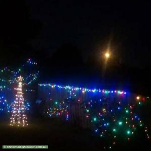 Christmas Light display at 3 Cleveland Court, Dandenong North