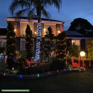 Christmas Light display at 56 Circle Ridge, Chirnside Park