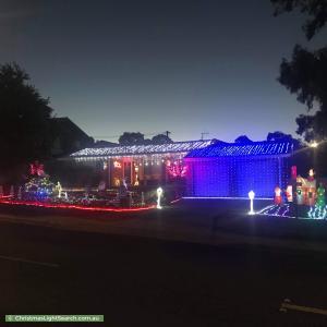 Christmas Light display at 53 Hurtle Avenue, Bonython