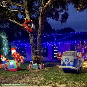 Christmas Light display at 14 Rochester Street, Morphett Vale