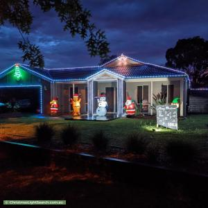 Christmas Light display at 2 Scott Lee Drive, Beaconsfield