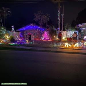 Christmas Light display at 3 Hailar Street, Shailer Park