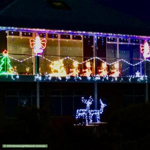 Christmas Light display at 275 Esplanade, Aldinga Beach