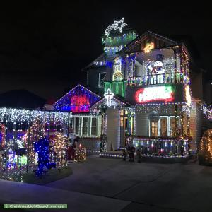 Christmas Light display at 5 Molesworth Street, Coburg