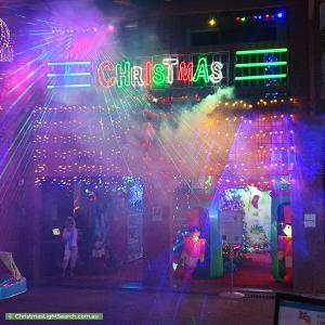 Christmas Light display at Karingal Road, Dernancourt