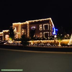 Christmas Light display at 7 Cooee Rise, Lawson